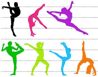 Gymnast clipart gymnastics moves Clipart Clipart Panda Gymnastics S