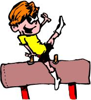 Gymnastics clipart fun Clipart  Vault Silhouette Free