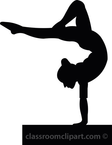 Gymnast clipart handstand Results best Pictures 28 for