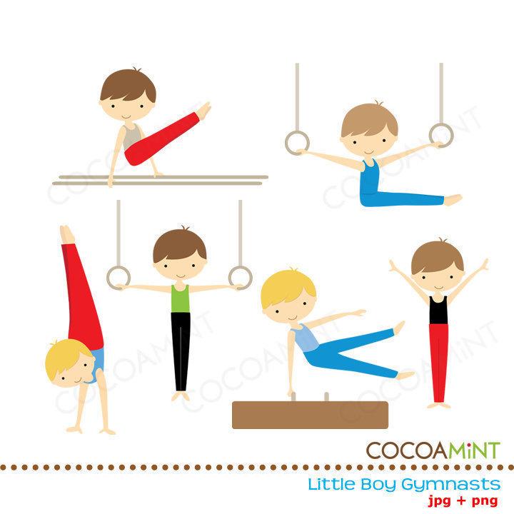 Gymnast clipart kid gym Clip gymnastics Clipart boy (46+)