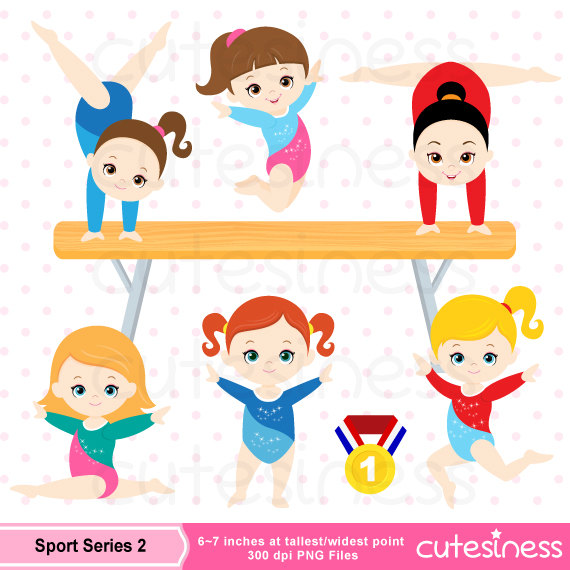 Gymnast clipart kid gymnastics Gymnastic Clipart Clipart Art to