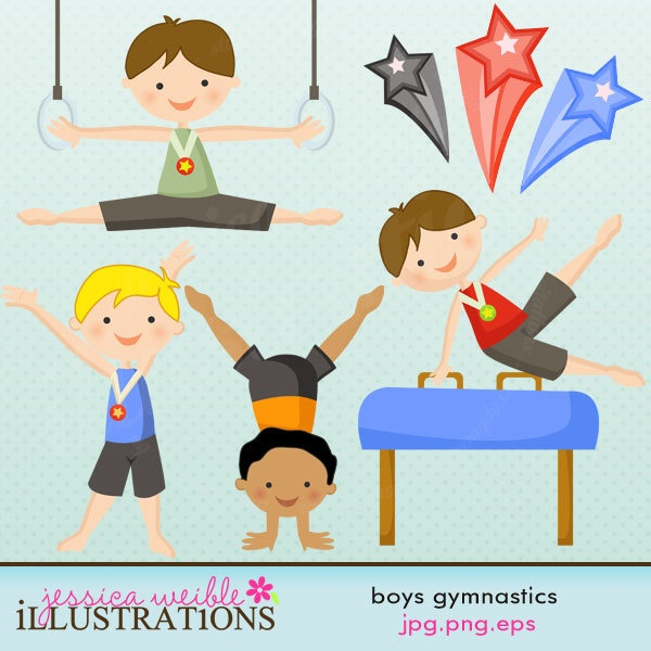 Gymnast clipart kid gymnastics On Clip gymnastics Gymnastics Cute
