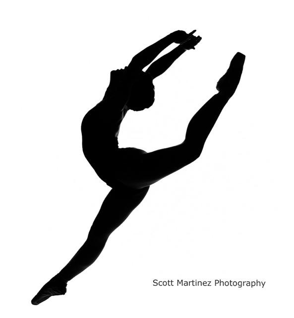 Ballet clipart contemporary dancer Ballet Silhouette Free Panda Dancer
