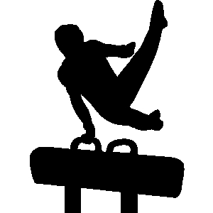 Ring clipart men's gymnastics Men&gymnastics Free clipart Mens