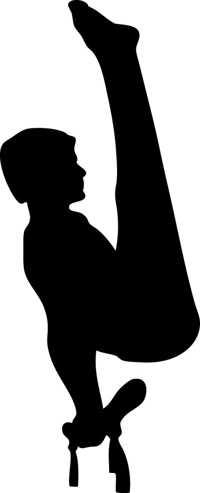 Ring clipart men's gymnastics USA Free Clipart Male