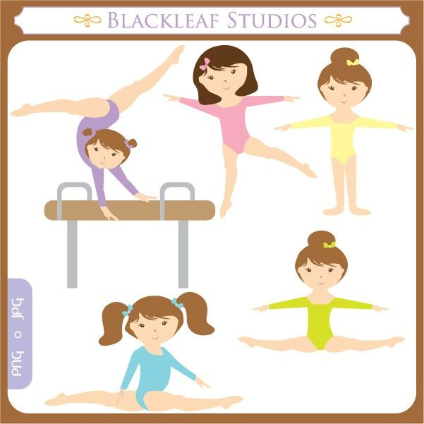 Gymnast clipart needle Art best Clip Girl this