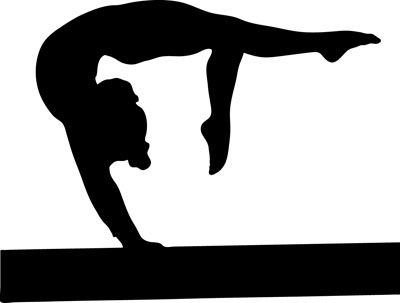 Gymnast clipart needle Cliparts Clipart Gymnastics Image Zone