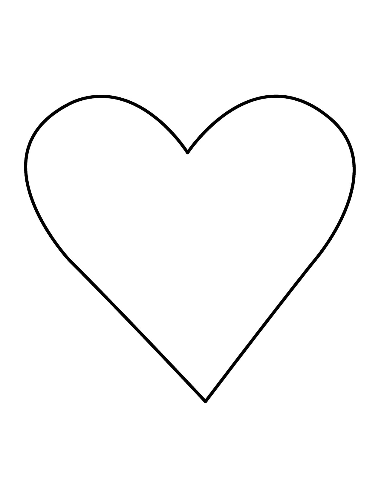 Heart-shaped clipart large heart #5