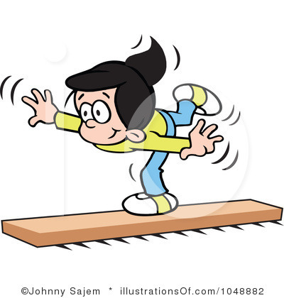 Gymnastics clipart balance beam Clipart Clipart Triple Balance Beam