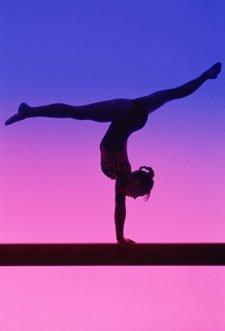 Pink clipart gymnastics Clipart moves Gymnastics Gymnastics Tumbling