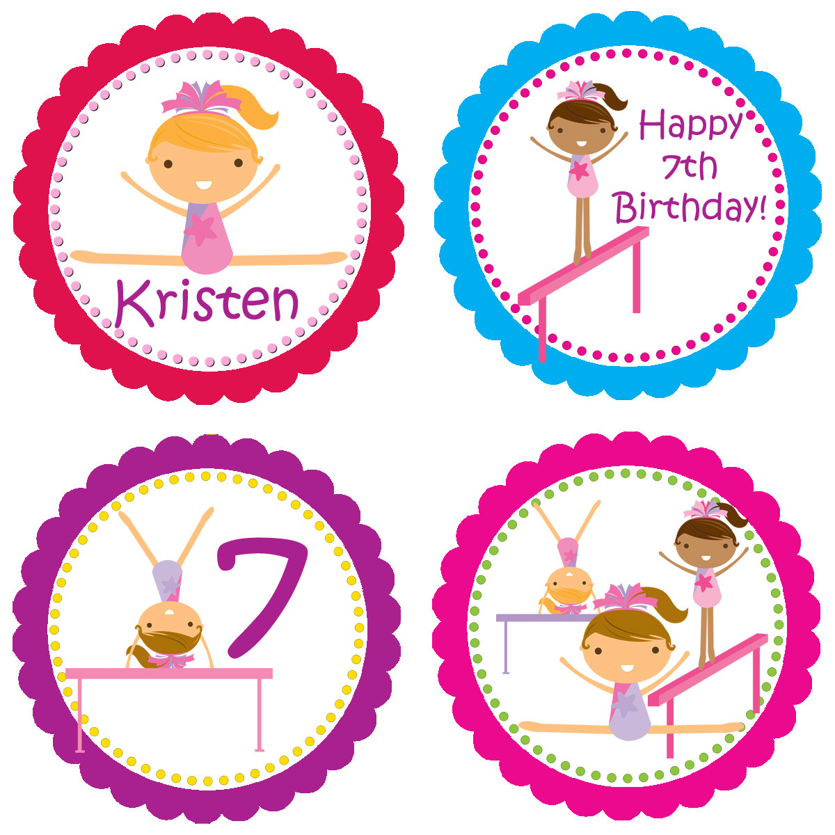 Gymnast clipart pink Free Clipart kids%20birthday%20party%20clip%20art Panda Clipart