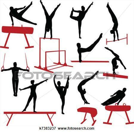 Artistic clipart gymnastic On clip Gymnastics gymnastics good