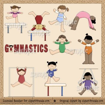 Gymnast clipart preschool gymnastics Clipart Primsy) 4 (Whimsy Gymnast