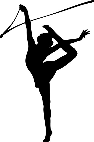 Gymnastics clipart ribbon Love Elitsa Gymnastics D Pin