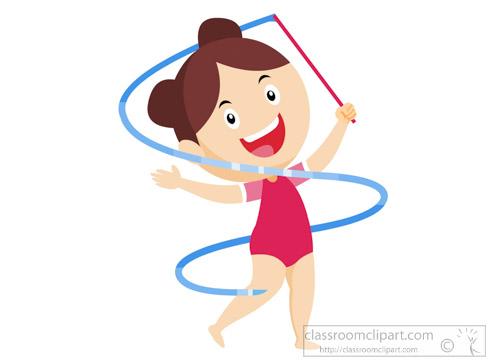Gymnastics clipart ribbon Toes Art Kb Graphics Pictures