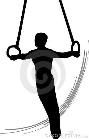 Gymnastics clipart trampoline gymnastics Panda Clipart gymnastics%20clipart%20silhouette Silhouette Split