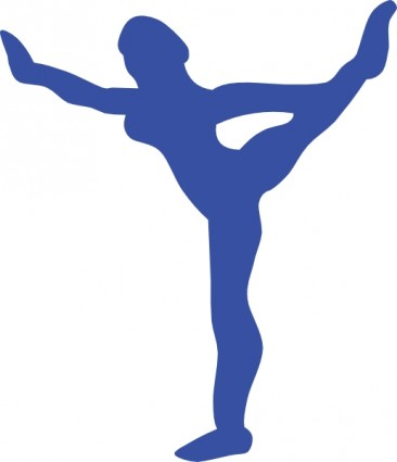 Gymnast clipart shadow Gymnastics Clipart Panda Images Clipart