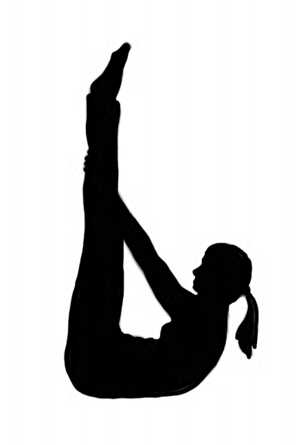 Gymnastics clipart somersault Doing gymnastics of silhouette Different