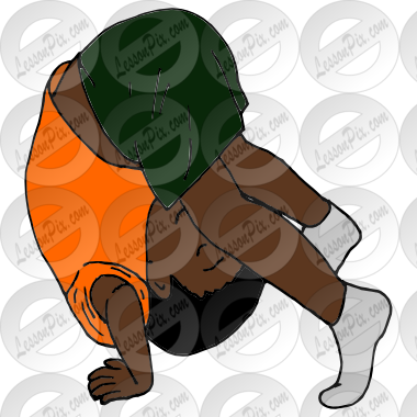 Gymnast clipart somersault Therapy Somersault Great Classroom for