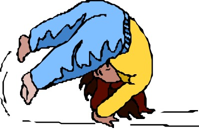Gymnastics clipart somersault Free images others tumbling cliparts
