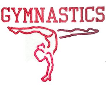 Word clipart gymnastics Art Clip Gymnast no free