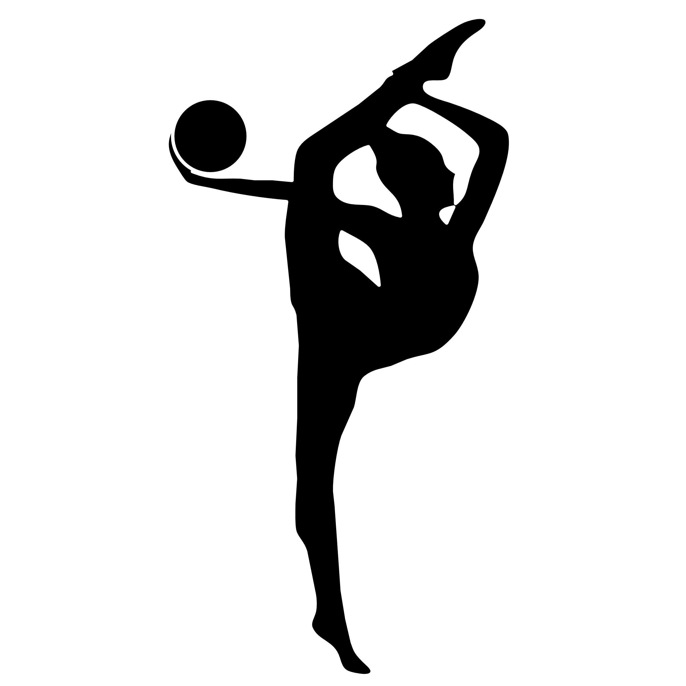 Club clipart rhythmic gymnastics Gymnastics%20clipart%20silhouette%20vault Clipart  Silhouette Gymnastics