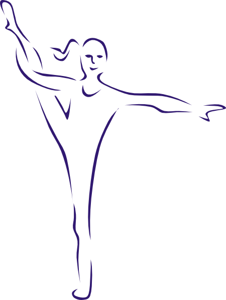 Gymnast clipart transparent  vector image this art