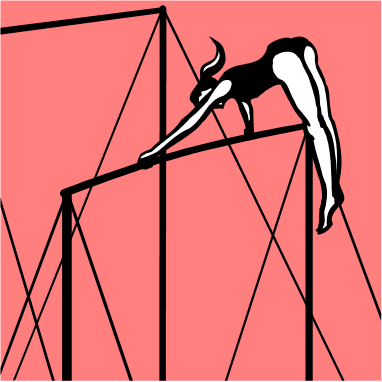 Gymnast clipart uneven bar My » bars of Love