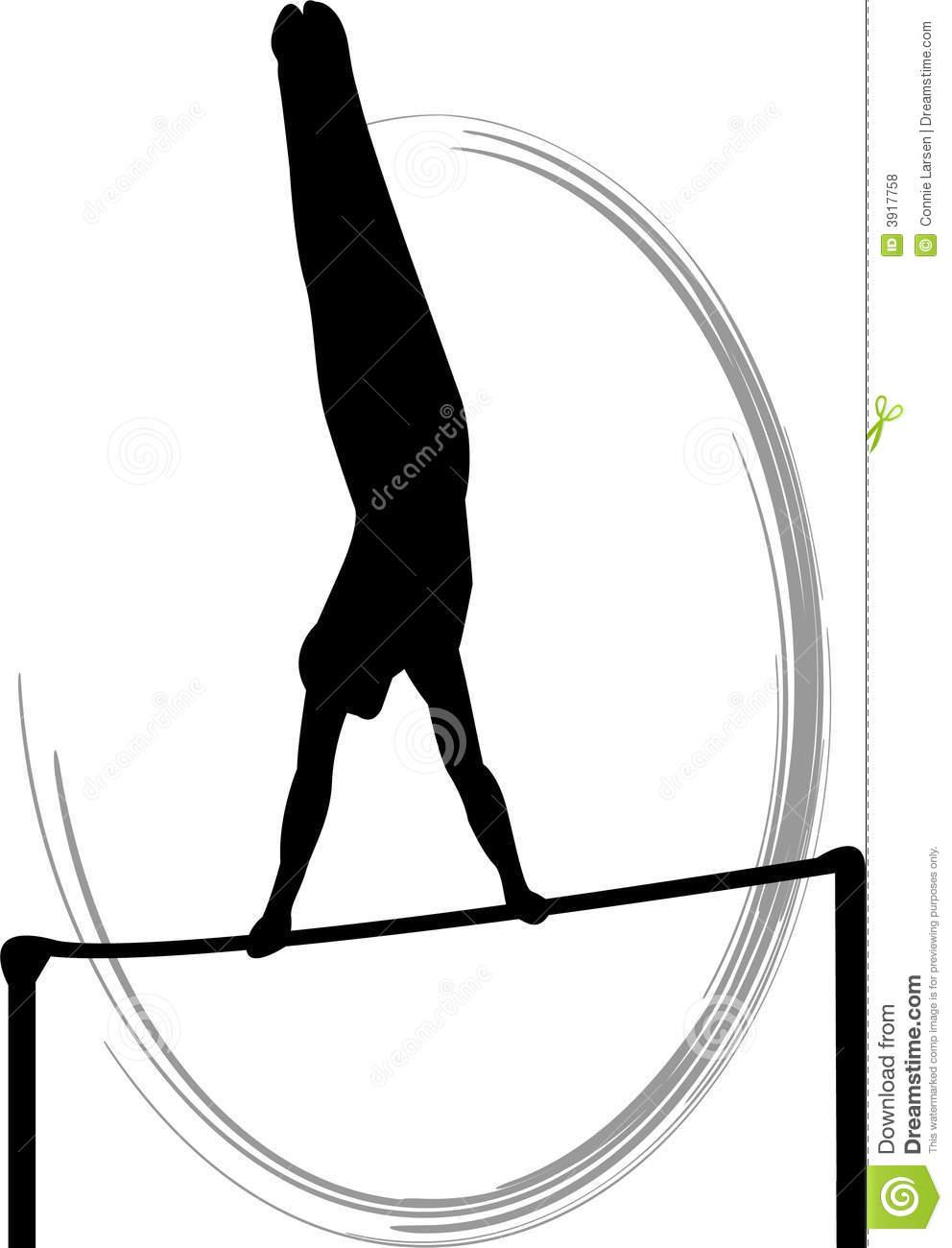 Gymnast clipart uneven bar Vault collection Clipart Gymnastics uneven