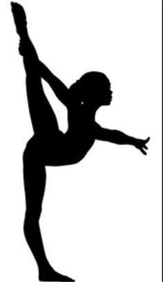 Gymnast clipart vector Clip » Google silhouette Cartoon