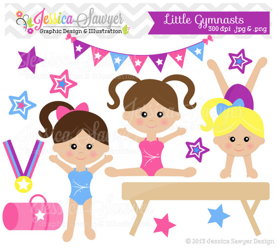 Gymnastics clipart birthday party Gymnastics Clipart S Men collection
