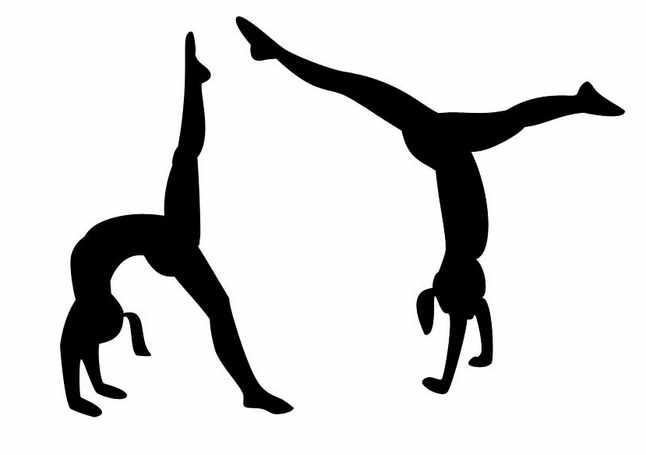 Artistic clipart gymnastic Art Gymnastics and gymnastics 6