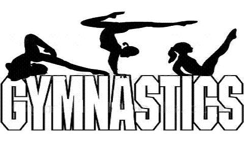 Gymnastics clipart dance Clipart tumbling Gymnastics Clipartix Gymnastics