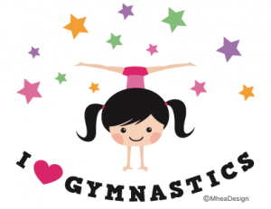 Gymnastics clipart i heart Mhea by Mhea by gymnastics