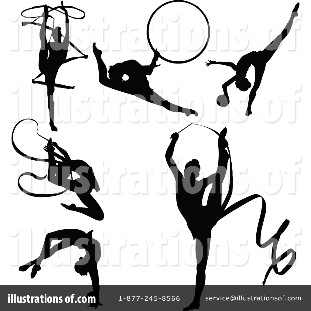 Gymnastics clipart player #66898 Illustration Royalty Pushkin by