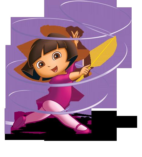 Gymnastics clipart ribbon Gymnastics dora kids cartoons Gymnastics
