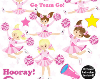Gymnastics clipart trophy Trophy Cheerleaders Etsy Clipart Commercial