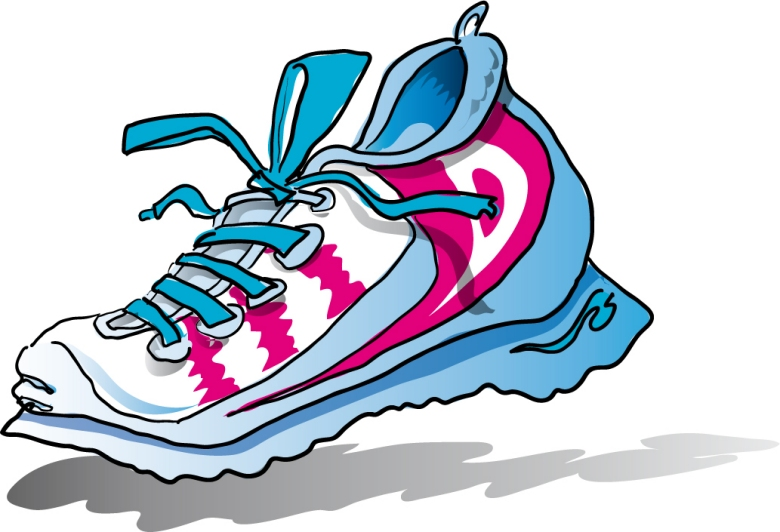 Gym-shoes clipart Clipart Running Clipart Panda Free