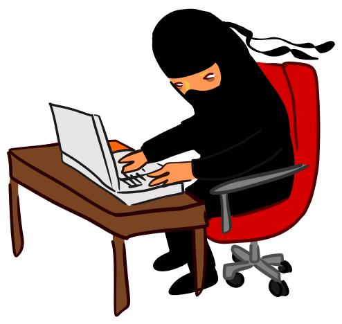 Geek clipart computer hacker Art Hacker Ninja Download Clip