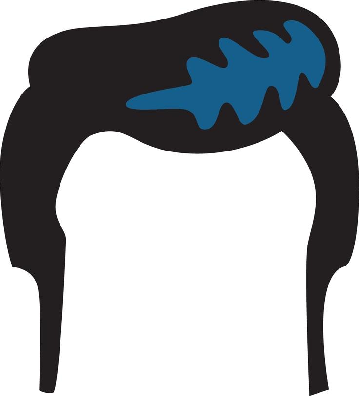 Hair clipart 50's Panda Art Images Clipart hair%20clipart
