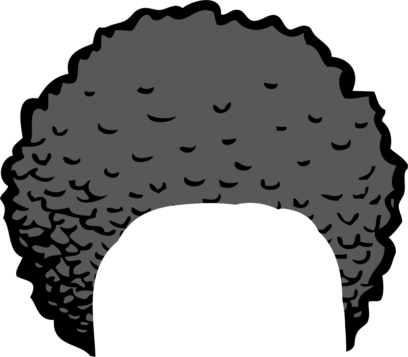 White Hair clipart Grey Hair Clipart Afro Images Free Clip Clipart