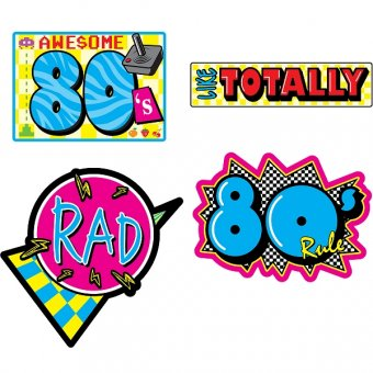 Hair clipart 80's For 80's Cutouts of Pack
