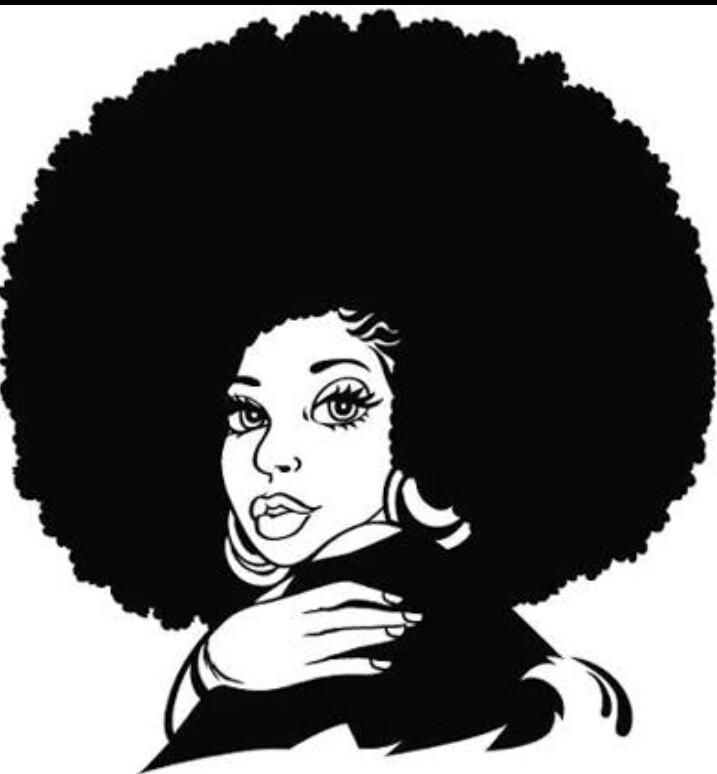 Hair clipart african american hair By  HairNatural Kalia art