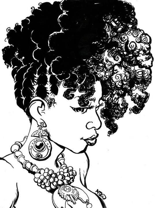 Hair clipart afro hair White Black 55 Curly and