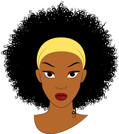 Hair clipart afro hair Afro Zone Cliparts Hair Cliparts