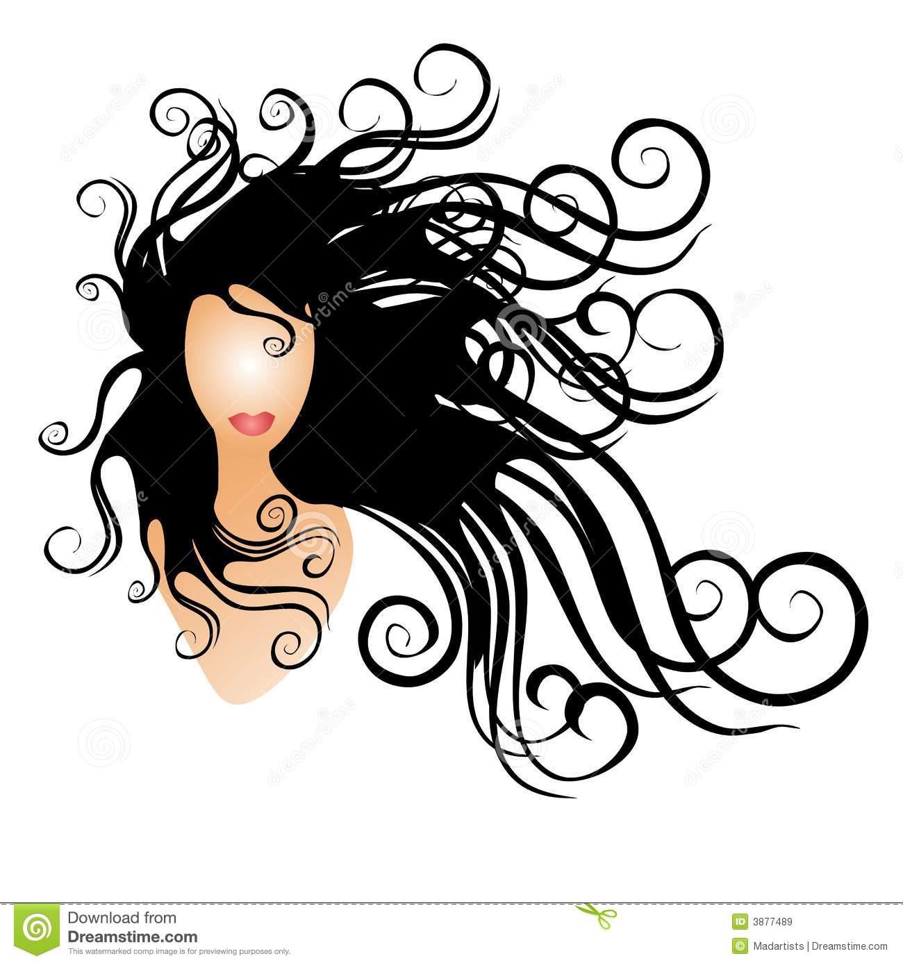 Hair clipart animated Nappy  Hair Clipart