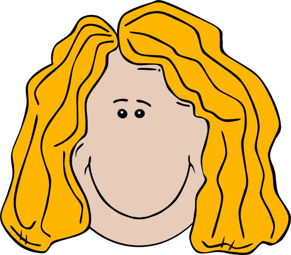 Hair clipart animated Lady this clip com Clip