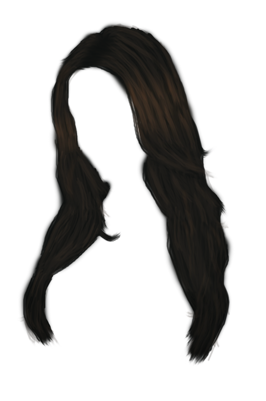 Hair clipart balck Download images women hairs hair