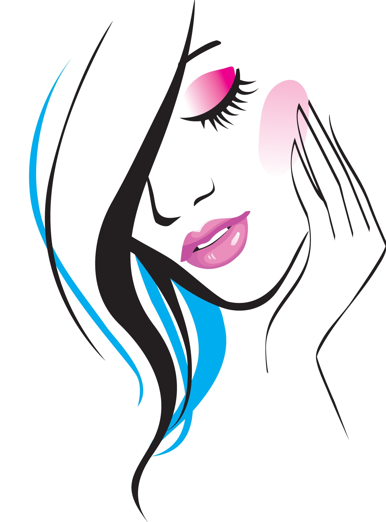 Hair clipart beauty parlour model For Logo Beauty Morgan Parlor