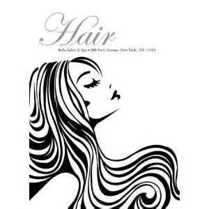 Dark Hair clipart beauty product #3